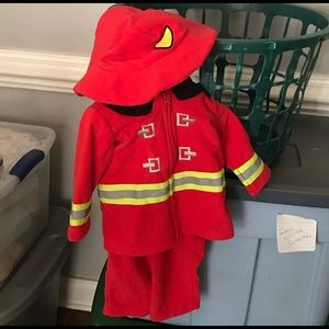 Fireman 🚒 costume for baby boy 💙